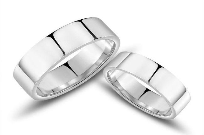 חלקות מבפנים ונטולות אבני חן או יהלומים, טבעות נישואין כשרות