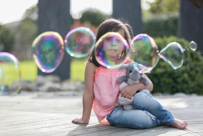 ילדים אוהבים את זה: בועות סבון